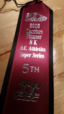 5th place in my age group
